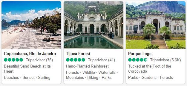 Rio de Janeiro Attractions 2