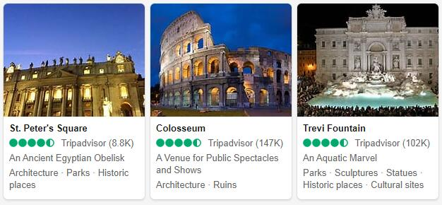 Rome Attractions 2